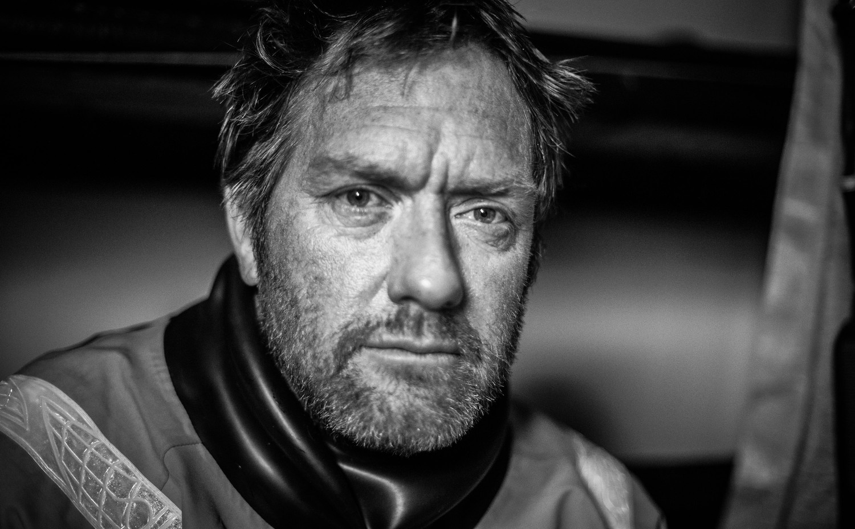 Tony Rae portrait. Day 20 at Sea.