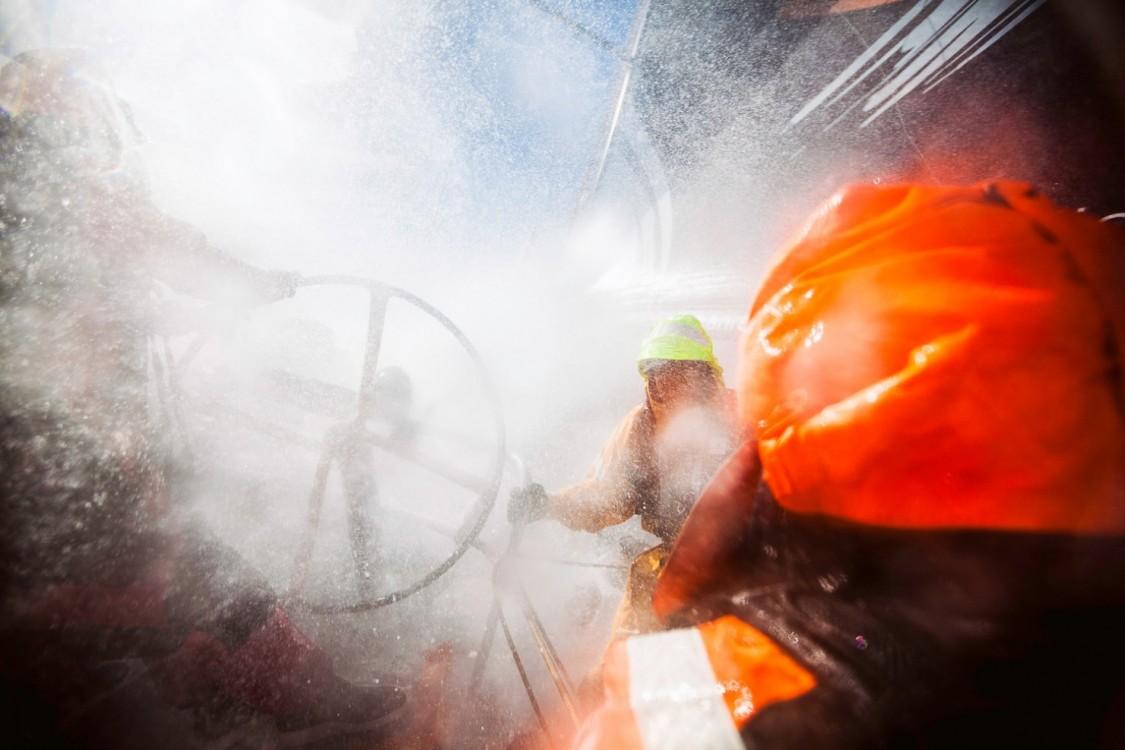 2014-15, Leg5, OBR, ONBOARD, TEAM ALVIMEDICA, VOR, Volvo Ocean Race, splash, wet