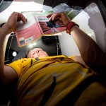 2014-15, Abu Dhabi Ocean Racing, Leg6, OBR, VOR, Volvo Ocean Race, onboard, Luke Parkinson, rest, reading, book, bunk
