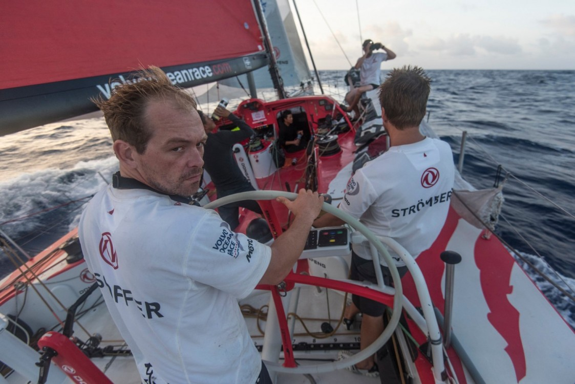 2014-15, Dongfeng Race Team, Leg6, OBR, VOR, Volvo Ocean Race, onboard, spy, Kevin Escoffier