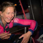 2014-15, VOR, Volvo Ocean Race, Team SCA, pontoon, night, arrivals, welcome, family, Sophie Ciszek