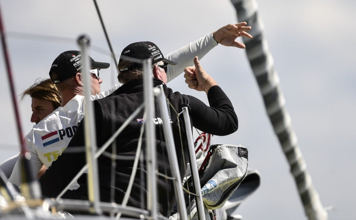 2014-15, VOR, Volvo Ocean Race, Gothenburg, Leg9, Arrivals, Team Brunel