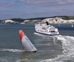 Leg 9, Volvo Ocean Race 2014-15, 2014-15, VOR, Volvo Ocean Race, landscape, Leg9, Aerial, coastline, Dongfeng Race Team
