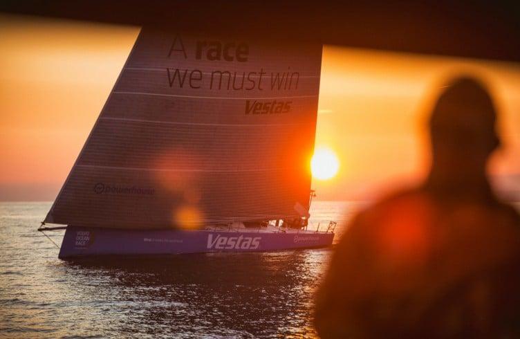 2014-15, Leg9, ONBOARD, TEAM ALVIMEDICA, VOR, Volvo Ocean Race, Ryan Houston, Team Vestas Wind, Sunset