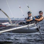 C Class, Class C, Sailing, Little Cup, Benoit Morelle, Benoit Marie, Cogito, Catamaran, Multihull, Axon Racing, Sailor, Régate, USA104, Regatta