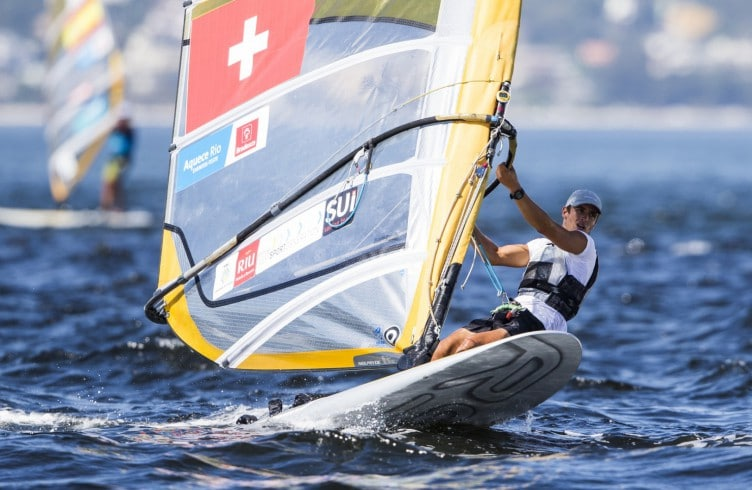 RS:X M, SUIMateo Sanz Lanz, TEST EVENT 2015 - AQUECE RIO INTERNATIONAL REGATTA