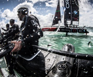 35th America's Cup Bermuda 2017, America's Cup, Challengers, Sofbank Team Japan