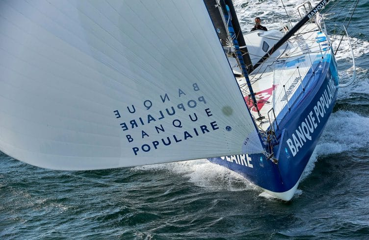 290316, ARMEL LE CLEACH, BANQUE POPULAIRE VIII, MONOCOQUE, MONOHULL, NAVIGATION, SAIL, SEA, TRAINING, VENDEE GLOBE