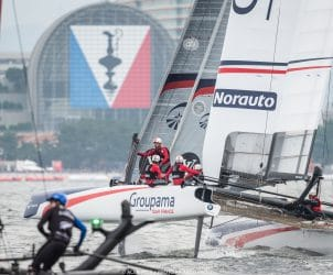 2016, 35th America's Cup Bermuda 2017, AC35, AC45f, Asia, Fukuoka, Inshore Races, Japan, LVACWS 2016, Louis Vuitton America's Cup World Series Fukuoka, Multihulls, One Design, RD2, RP, Racing Day 2, Regatta, Ricardo Pinto, Sailing