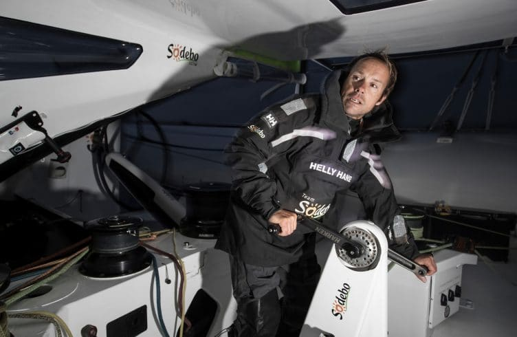 Trimaran, Thomas Coville, Sodebo, Ultim, Solo, Record Attempt, France