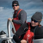 Charles Caudrelier, Dongfeng, Marie Riou, Onboard