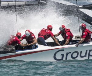2017, 35th America's Cup Bermuda 2017, AC35, Bermuda, GTF, Groupama Team France, Sailing, Qualifiers, Day 1, Race, RD1