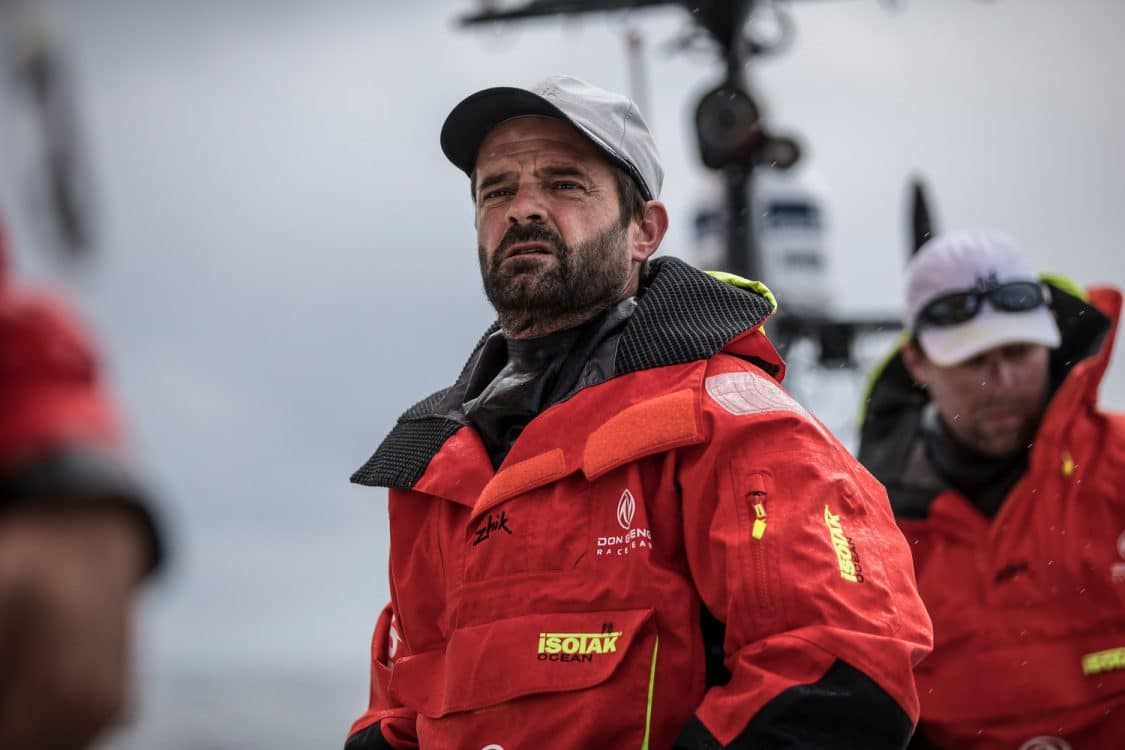 2017-18, Commercial, Concentration, Dongfeng, Emotion, Fastnet Rock, Leg Zero, On board, On-board, Pascal Bidegorry, Performance analysis and reserve sailor, Pre-race, Rolex Fastnet Race, Zhik
