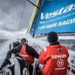 2017-18, Action, Charlie Enright, Commercial, Leg Zero, Musto, North Sails, On board, On-board, Pre-race, Race Sponsors, Race Suppliers, Rolex Fastnet Race, Rough weather, Skipper, Splash, Vestas 11th Hour Racing