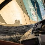 2017-18, Art, Artistic, B&G, Commercial, Kind of picture, Leg Zero, Nature, On board, On-board, Pre-race, Race Suppliers, Rolex Fastnet Race, Shadow, Silhouette, Sunrise, Vestas 11th Hour Racing