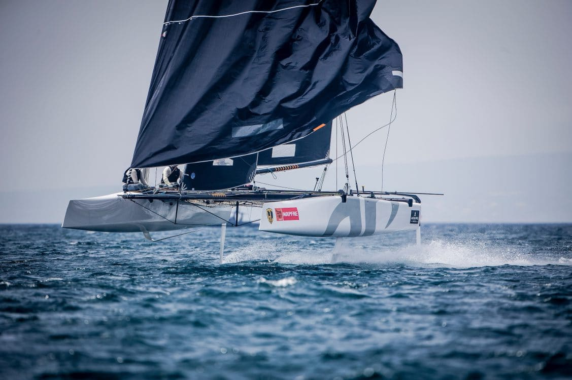 ARGO, Copa del rey, Extreme sailing, Fastest boats, GC32, GC32 RACING TOUR - COPA DEL REY 2017, GC32 Racing Tour, Mallorca, catamaran, foiling, foiling catamaran, one design yacht, sailing, speed, yachting