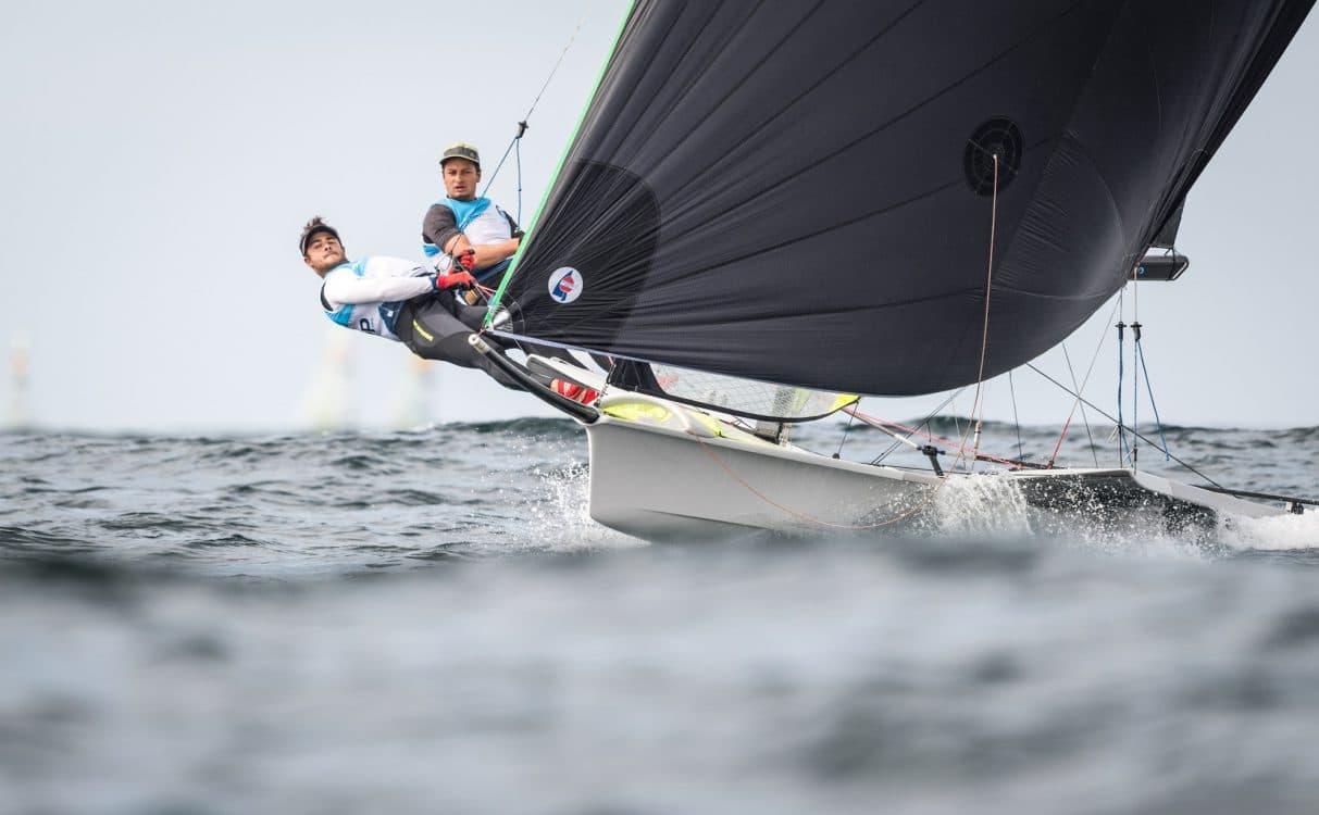 2017, 49er, 49er & 49erFX World Championship, Class, D3, Day 3, Inshore Races, Porto, Portugal, Sailing, © Ricardo Pinto