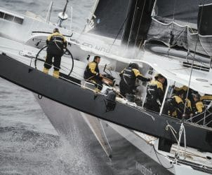 aerial, helicopter, helishot, maxi, offshore, spindrift 2, training, trimaran, yann guichard